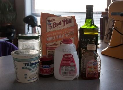 english muffin ingrediants